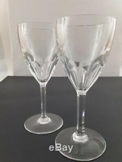 Vintage Baccarat Crystal Harcourt Port Wine Glasses (set of 2) 6-1/2- Excellent