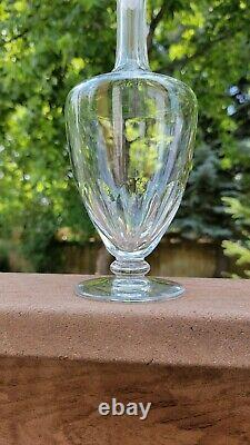 Vintage Baccarat Crystal Wine Decanter French