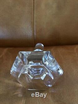 Vintage Baccarat Harcourt 1841 Crystal Wine Decanter. Pristine Condition
