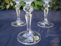 Vintage Bohemia Queen Lace Hand Cut Lead Crystal Wine Goblat 12 Oz 6 Pc, 360 ML