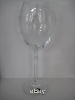 Vintage Classic Set Of 4 Lady Hamilton Pall Mall Large White Wine Glasses Boxed