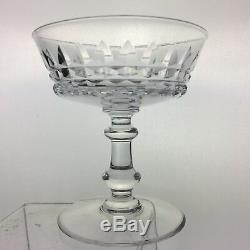 Vintage Cut Glass Or Crystal Champagne/dessert/wine/cocktail Coupe Set 11 Stems