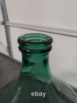 Vintage Italian Damigiana, Demijohn Glass Wine Jug/Jar Extra large 54L Italy