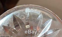 Vintage Lot of 10 Crystal Waterford Goblet Wine Glasses 7.5 Quality Stamped