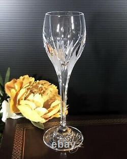 Vintage Mikasa Flame D'Amore Cordial Wine Glasses Set Of 2 RARE 7 inch