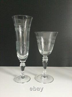 Vintage Pall Mall Lady Hamilton CLARET WINE Glasses BOXED