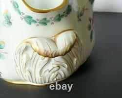 Vintage Richard Ginori Porcelain Glasses Wine Cooler Bowl Vase Roses Decoration