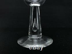 Vintage Steuben Teardrop Crystal Wine Glasses #7980 Set of 8 + Original Boxes
