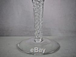 Vintage Stuart Crystal Ariel Port Wine Cordial Glasses Air Twist 5 3/8 Set of 5