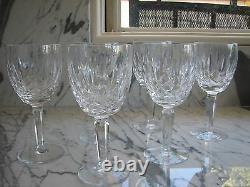Vintage WATERFORD Kildare Goblet Glasses set of 6
