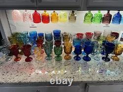 Vintage Water Goblets Wedding Goblets Wine Glasses Bulk Order