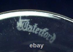 Vintage Waterford Crystal Set Of 8 Colleen Claret Wine Short Stem Glasseswow