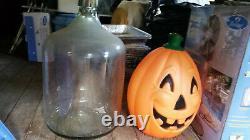 Vntg Carboy Jug Green Glass Water Wine Making Bottle 26 1954 Demijohn 13 gl 1-2