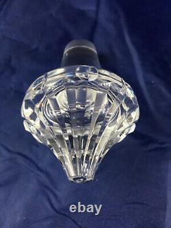 Vtg Kildare Waterford Crystal 13 1/2 Tall Wine Round Decanter Stopper 900ML/. 9L