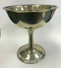 Wallace Sterling Silver Water Goblet Wine Glass No. 17 4 1/2 Tall 144 Grams EACH