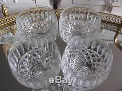Waterford Maeve Wine Hock Glasses 7 3/8 Lot Of 4 Vintage