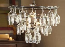 Wine Glass Chandelier Vintage Pendant Lamp Ceiling Light Fixture Bar Kitchen New